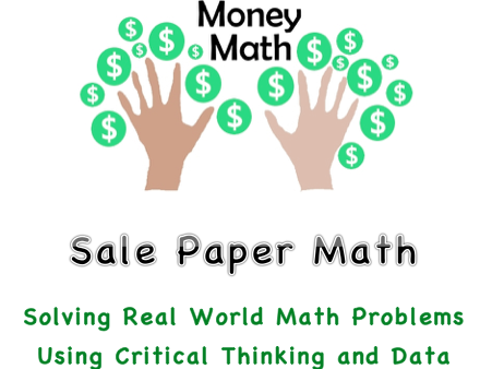 Money Math- Real World Math Word Problems