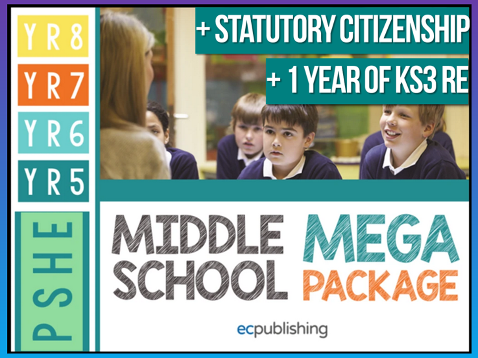 Complete Middle School PSHE with RE and Citizenship