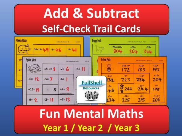 Add Subtract KS1
