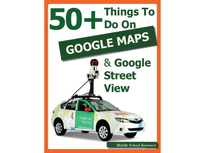 50+ Things To Do On Google Maps & Google Earth ***BRAND NEW***