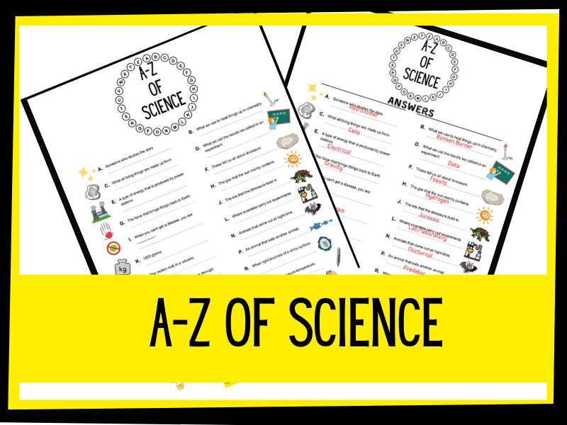 A- Z of science Quiz