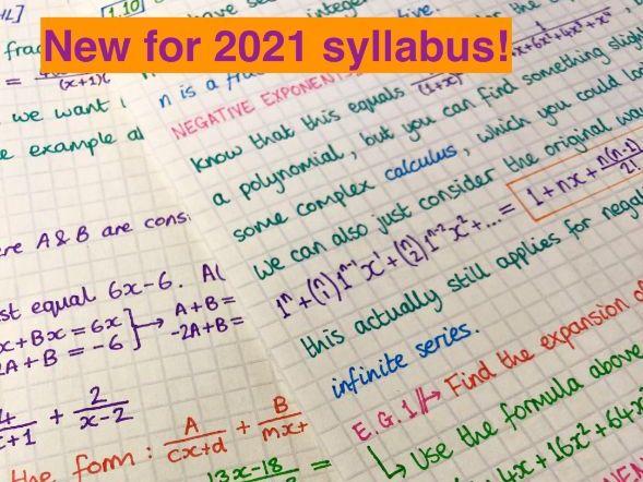 IB Maths AA HL - Topic 1 Algebra Notes