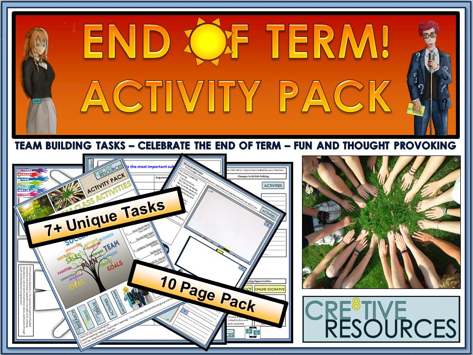 End of Term Activity Pack!