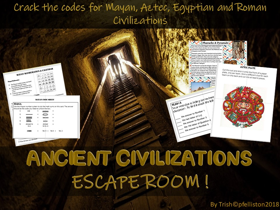 Ancient Civilizations Escape Room