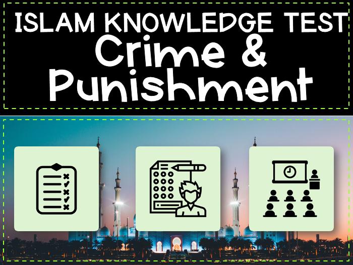 Islam Crime and Punishment Test