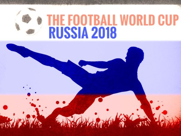 2018 Russia Football World Cup colouring sheets
