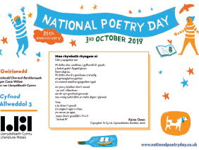 National Poetry Day 2019 resource from Literature Wales