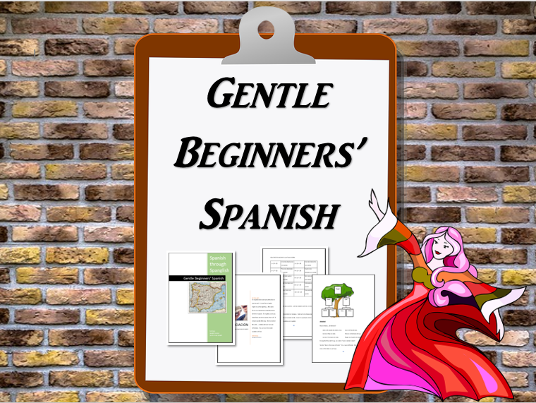 Gentle Beginners' Spanish course, part one.