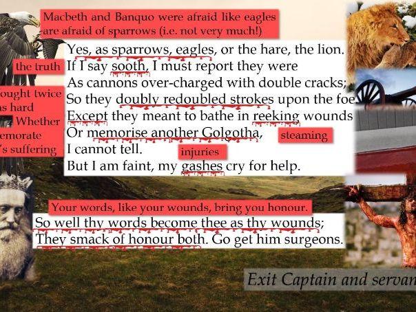 "Line by Line: Macbeth, the Captain's ""Doubtful it stood"" (1.2)"