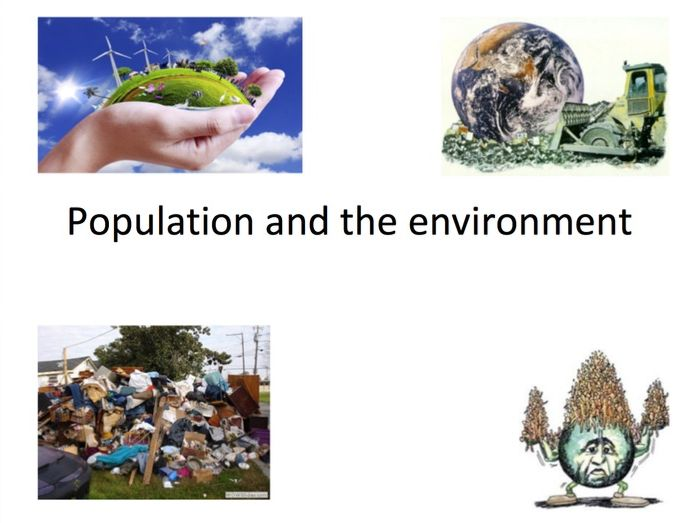 AQA A-Level Human Geography Population and the Environment PPT