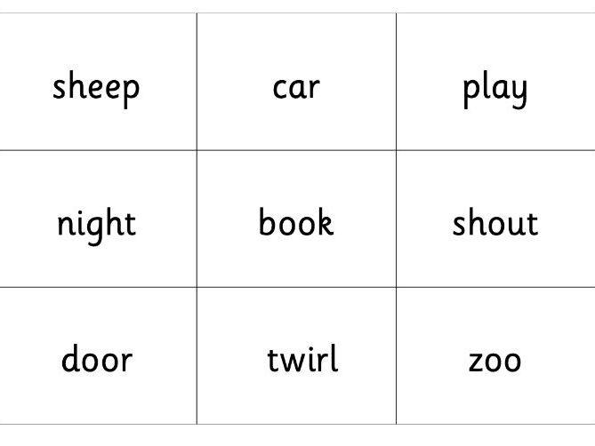 RWI Set 2 blending bingo