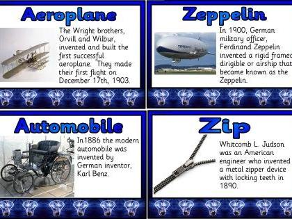 A-Z of Inventions