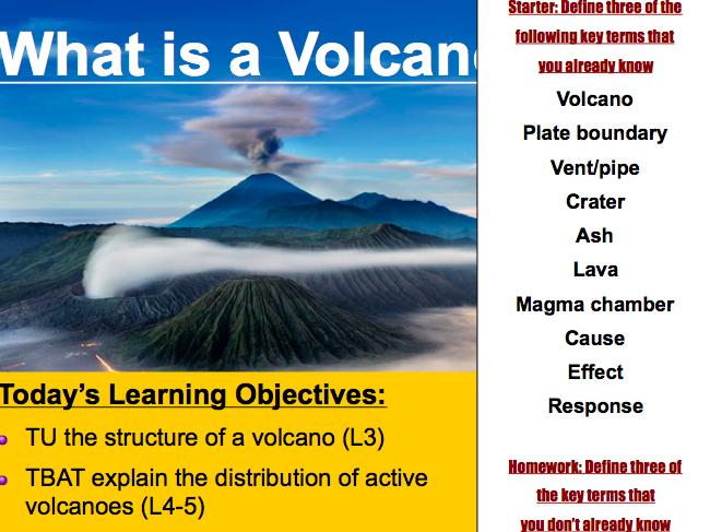Lesson 3: Volcanoes