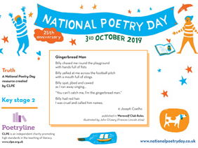 National Poetry Day 2019 Resource from CLPE