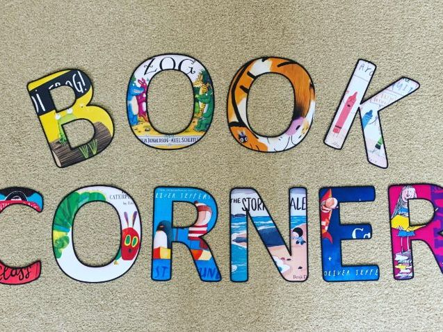 Book Corner Lettering