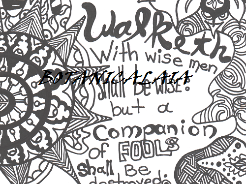 2 Corinthians 4: 18 EMBELLISHED ADULT COLORING PAGE