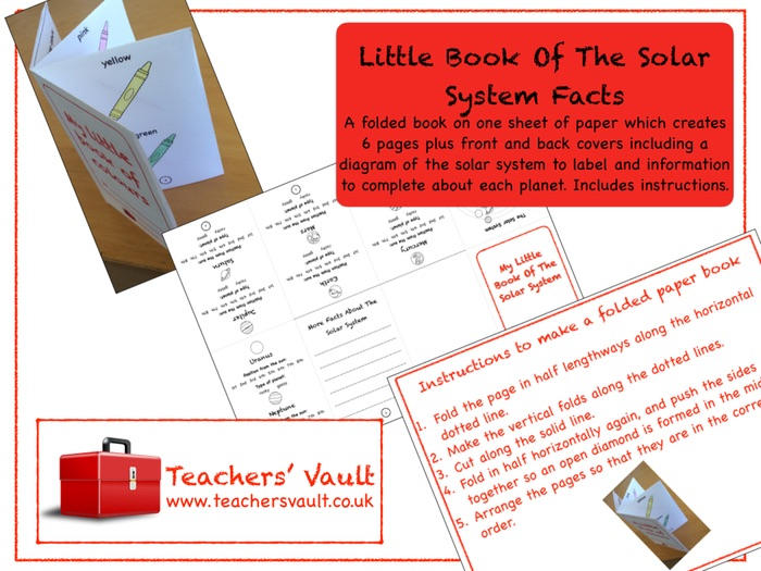 Little Book Of The Solar System Facts