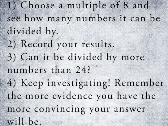 KS2 Problem Solving: Finding the Most Divisible Multiple of 8