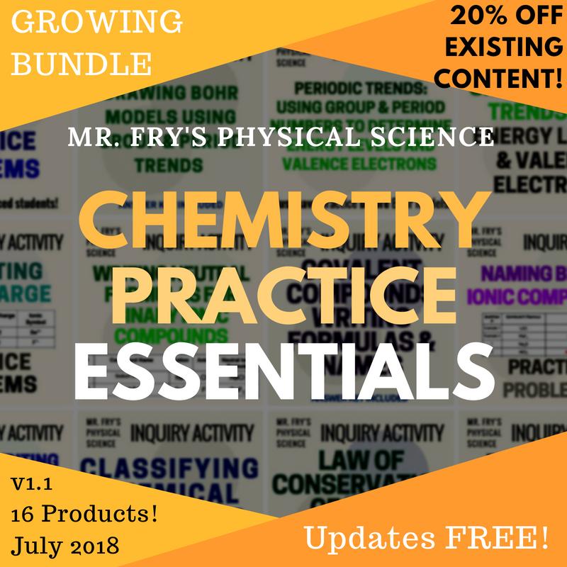 Chemistry Practice Essentials