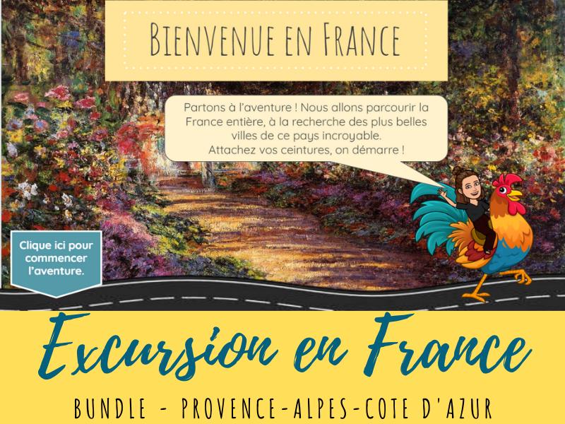 French Virtual Field Trip - PACA region