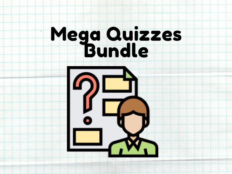Quizzes Bundle