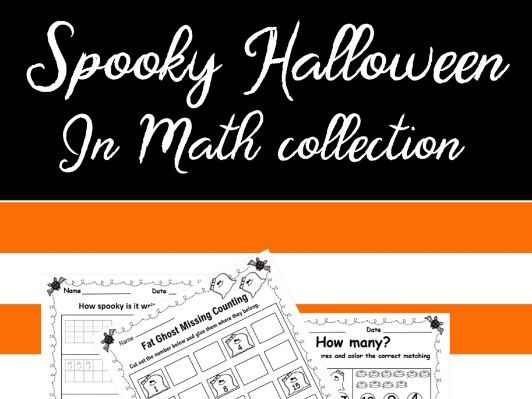 Spooky Halloween Math Collection