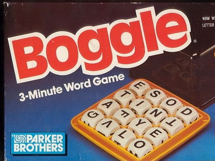 Boggle game (Letra-mania) for Spanish class