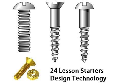 24 Lesson Starters for Design Technology