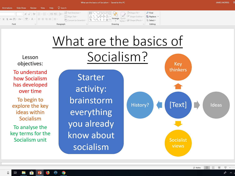 Socialism - Edexcel