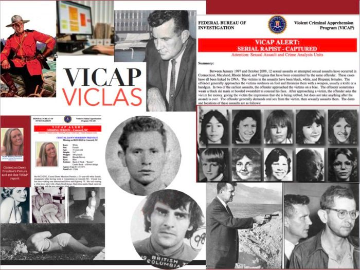 Pierce Brooks - Serial Killers - Glatman - Olson - FBI - ViCAP - 60 Slides