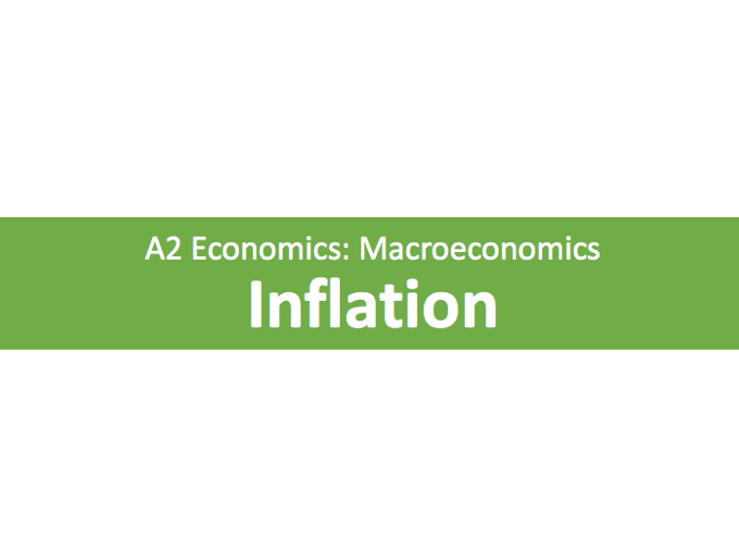 A Level Economics Inflation