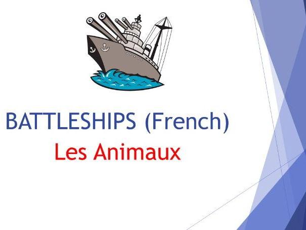 Les Animaux BATTLESHIPS (French)