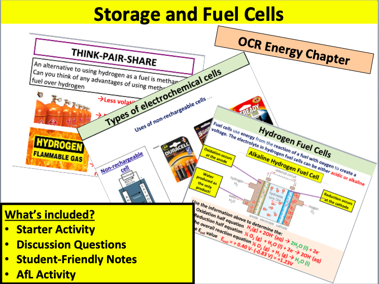 Storage and Fuel Cells