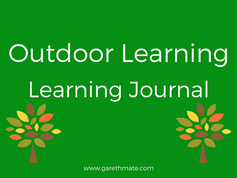 Outdoor Learning -  Learning Journal template