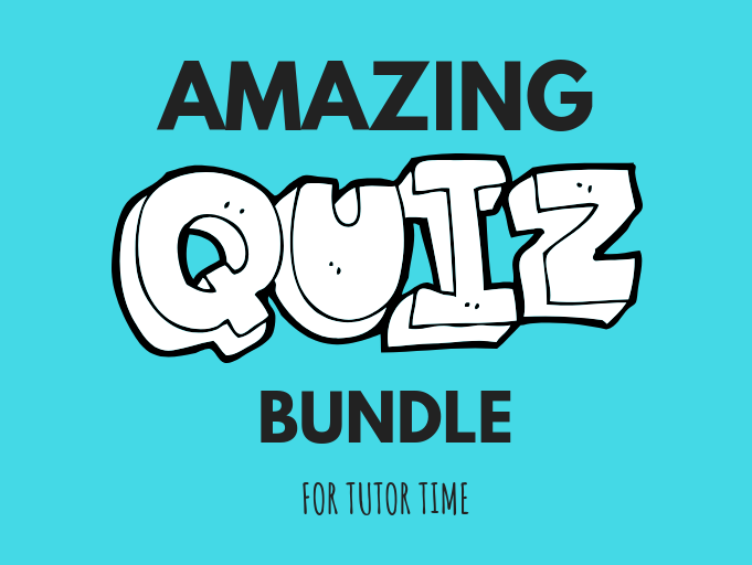 Quiz Bundle for Tutor Time