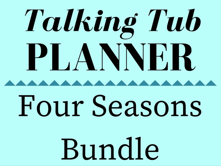 4 Seasons Talking Tub Planners