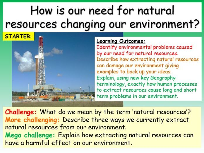 Natural Resources - Non Renewable