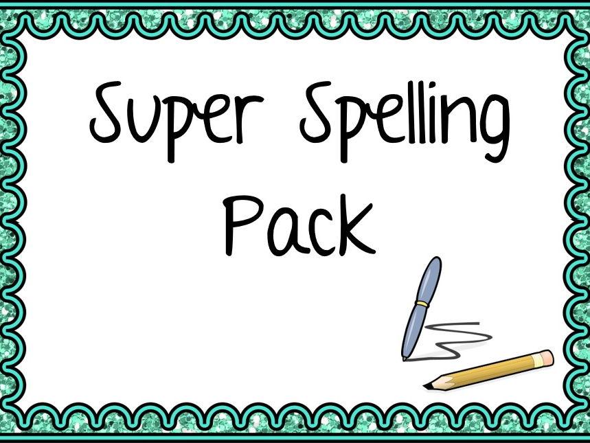 Super Spelling Pack (KS2)