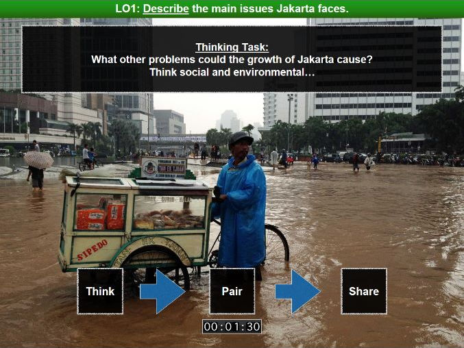 Edexcel B Geography - Development Dynamics - Case Study: Jakarta (Indonesia) - Lesson Four - Problem