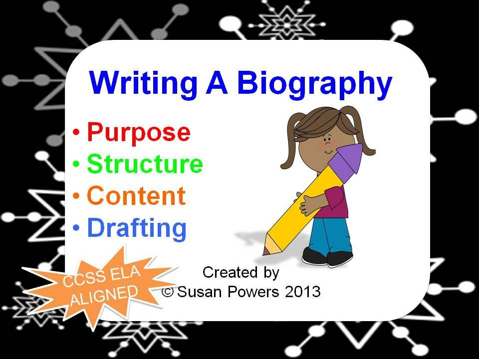 Free Biography Writing Powerpoint Presentation
