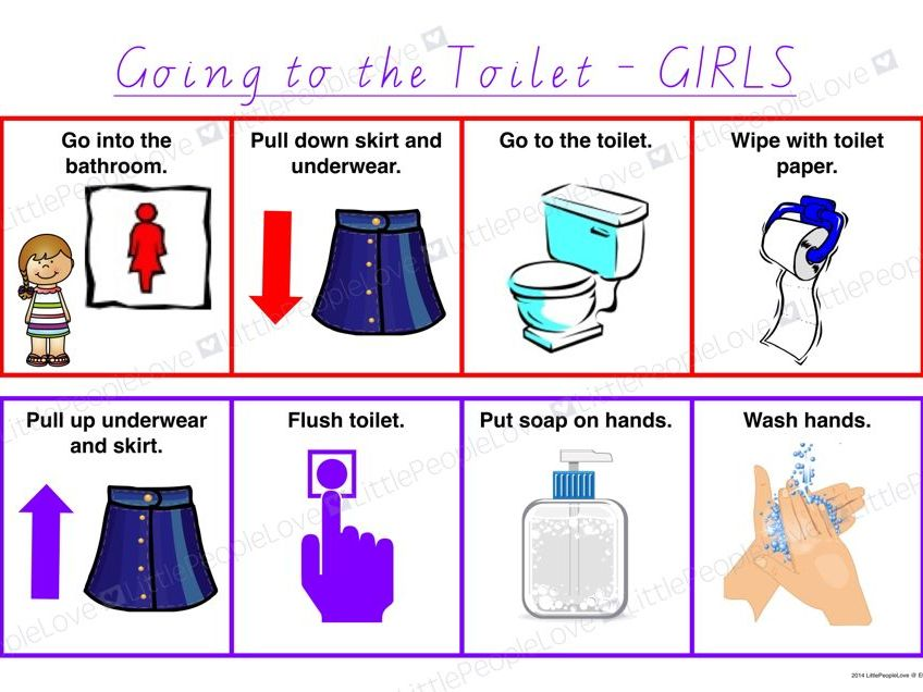 Going to the Toilet-GIRLS
