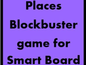 Places Blockbuster game for Smartboard