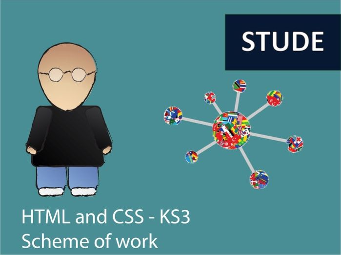 HTML and CSS Computing websites KS3 Scheme of work