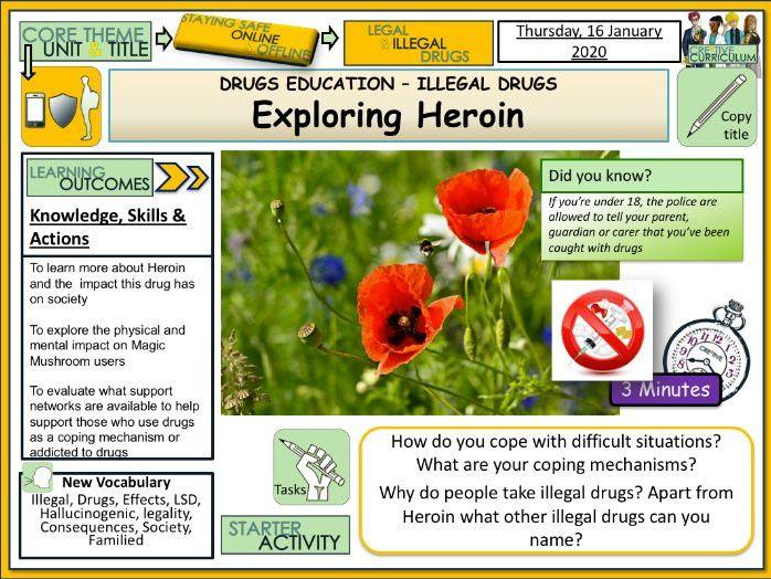 Drugs - Heroin