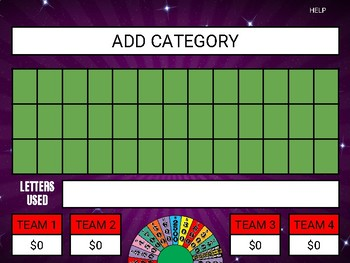 Wheel of Fortune (Google Slides Game Template)