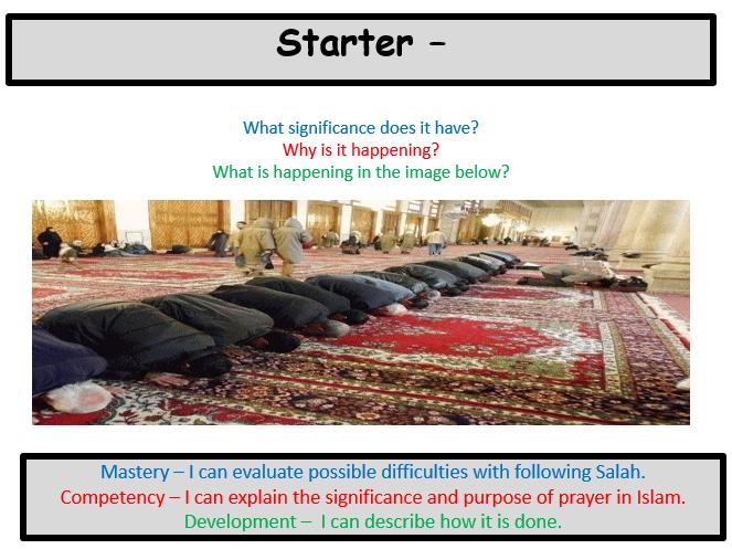 Salah (Prayer)