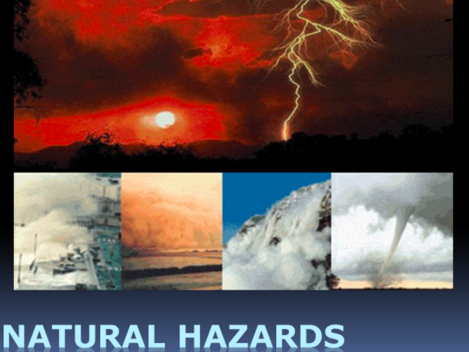 Natural Hazards! Tsunamis & Floods