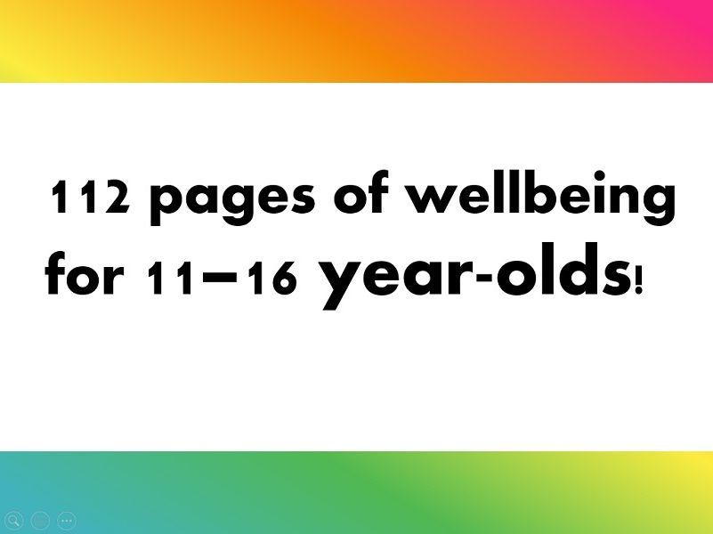 ELSA KS3/4 emotional wellbeing booklet