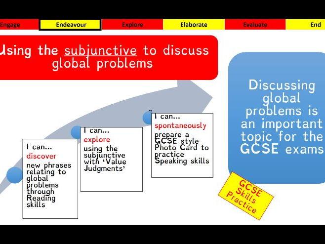 Viva GCSE - Module 8 - Piensa globalmente - Lesson 1