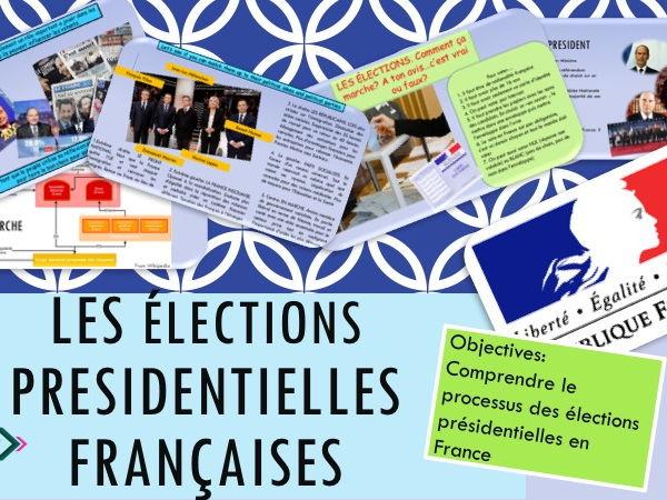 French Presidential Elections, les élections présidentielles lesson